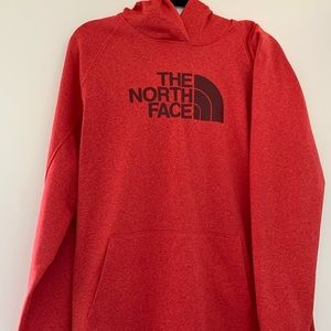 The North Face - Red Hoodie Sweatshirt - Size: XL